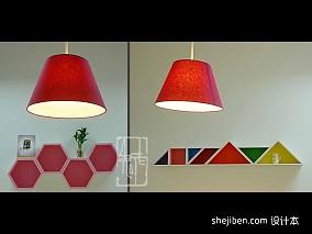 简美三室两厅两卫风格图片
