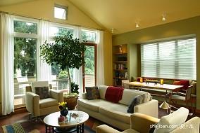 热门143平米美式复式客厅装修图片