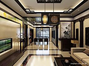 中式豪华客厅图片