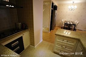 精选89平米二居厨房混搭装修设计效果图