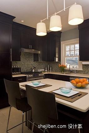热门98平米三居厨房现代实景图片欣赏