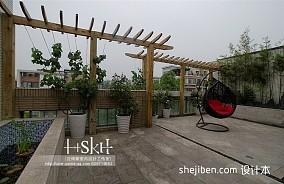 热门现代复式阳台欣赏图