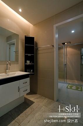 144平米现代复式卫生间效果图片大全