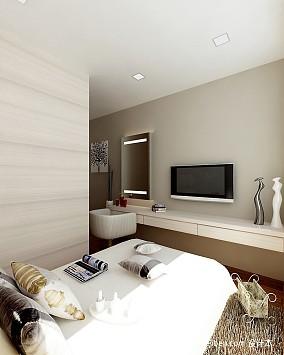 2018精选面积132平混搭四居卧室装修效果图片欣赏