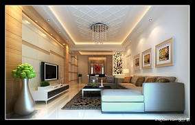 热门130平米现代别墅装饰图片