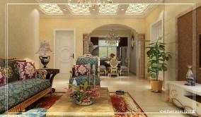 时尚欧式茶室装修设计