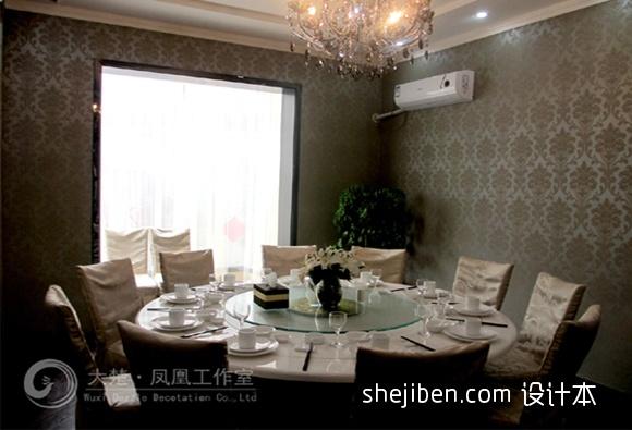 欧式家装客厅电视背景墙效果图厨房欧式豪华餐厅设计图片赏析
