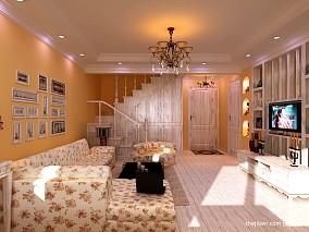 精美大小88平混搭二居客厅装修设计效果图片大全
