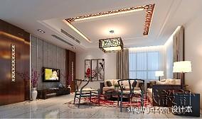 精选116平米混搭别墅客厅装修设计效果图片大全