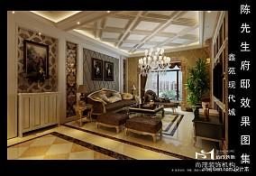 110平米三室两厅两卫户型图装修效果图