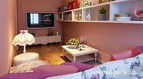77平米混搭小户型客厅装修实景图片欣赏