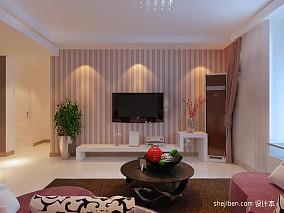 精选113平米混搭复式客厅装修图片大全