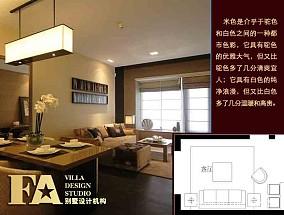 45平米一室一厅装修客厅效果图2015