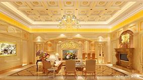 热门139平米欧式别墅客厅装修欣赏图片