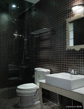 小卫生间瓷砖装修图片