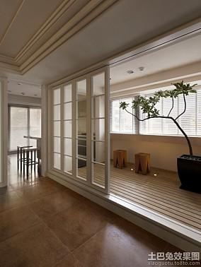 小户型室内阳台隔断设计