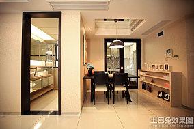 简约中式餐厅设计效果图
