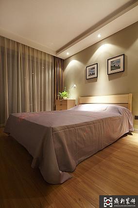 2018面积73平小户型卧室简约效果图