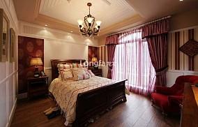 热门122平方美式别墅卧室装饰图片大全