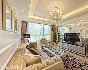 精美面积81平小户型客厅欧式欣赏图