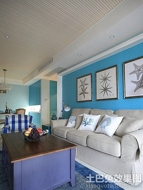 地中海风格小户型室内装修效果图大全
