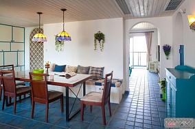 精美地中海二居休闲区装饰图片
