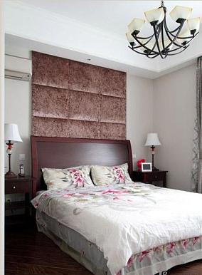 二居卧室美式装修效果图片欣赏