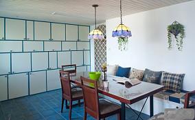 地中海风格餐厅装修效果图2013