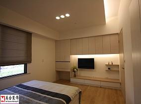 简单装修卧室电视背景墙效果图