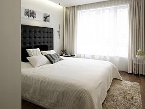 201876平米二居卧室现代装饰图片欣赏