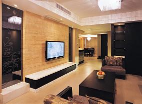 精选75平米二居休闲区中式实景图片欣赏
