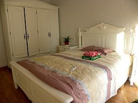 精美简欧小户型卧室实景图