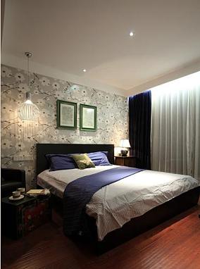 中西混搭两室两厅卧室装修效果图