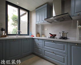 2018精选面积70平小户型厨房简约装修效果图片大全