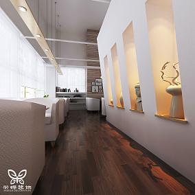 咖啡厅过道木地板贴图