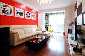 热门87平方二居客厅现代装修图
