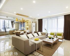 面积78平简约二居客厅装修图片大全