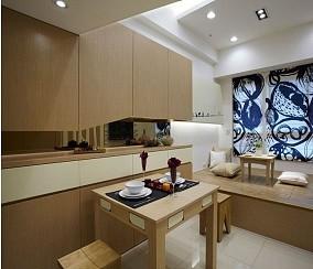 家庭小餐厅榻榻米装修效果图