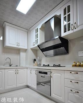 精美面积89平小户型厨房简欧装修设计效果图片大全