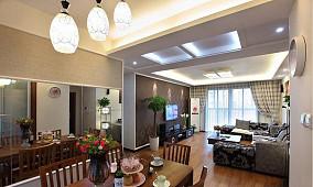 精选78平米现代小户型休闲区装饰图