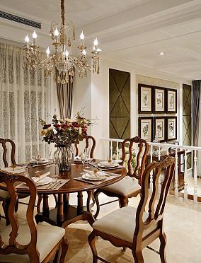 热门面积144平别墅餐厅欧式装修设计效果图片大全