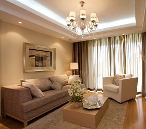 精选80平米现代小户型客厅装修实景图片