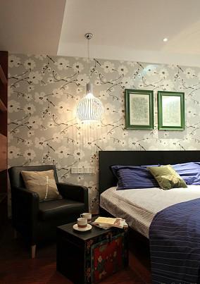 热门小户型卧室中式设计效果图