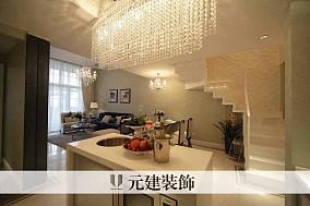 2018大小90平新古典二居客厅效果图