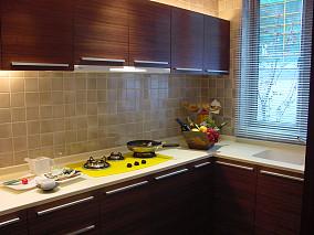 精美面积79平小户型厨房现代装修实景图