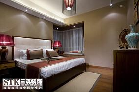 201881平米中式小户型卧室装饰图