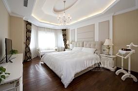 精选120平米简欧别墅卧室装饰图片