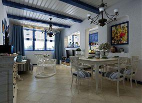 小户型餐厅地中海装修效果图片