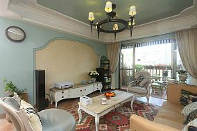 东南亚三居客厅实景图