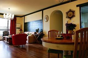 美式客厅沙发背景墙装修效果图大全